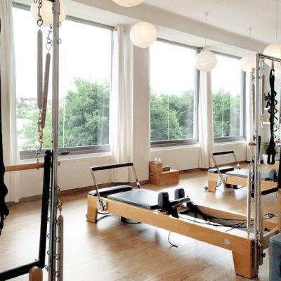 Centro Baum Pilates en Sant Cugat, paisaje y distancias de seguridad